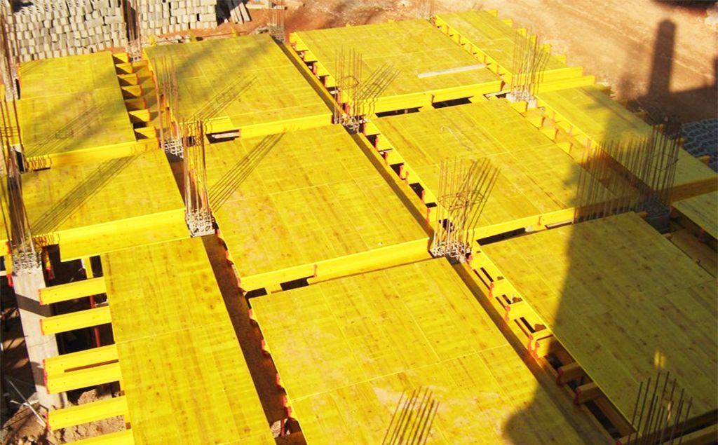 Pannelli in legno per armatura pannelli gialli per edilizia e costruzione pannelli per - Pannelli gialli tavole armatura ...